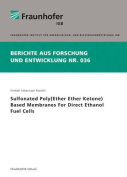Sulfonated Poly(Ether Ether Ketone) Based Membranes for Direct Ethanol Fuel Cells