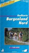Burgenland North Cycle Map