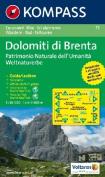 73: Gruppo Di Brenta 1:50, 000