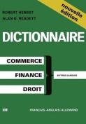Dictionaire DES Terms Commerciaux Financiers Et Juridiques [FRE]
