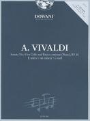 Sonata No. 5 for Cello and Basso Continuo (Piano), RV 40 E Minor