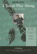 Sonata for Clarinet in BB and Piano Op. 120, No. 1 in F-Minor
