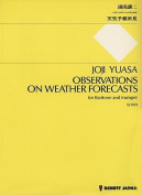 Observations on Weather Forecasts