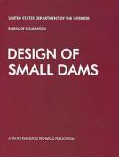Design of Small Dams