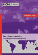 Law in Peace Negotiations