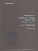 Hieratic Texts from the Collection