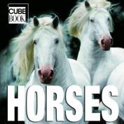 Horses Cube Book