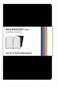 Moleskine Volant Large Ruled Black