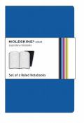 Moleskine Volant Large Ruled Blue