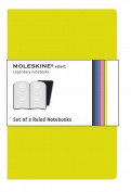 Moleskine Volant Large Ruled Green