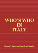 Who's Who in Italy: 2006