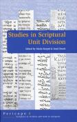 Studies in Scriptural Unit Division