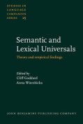 Semantic and Lexical Universals
