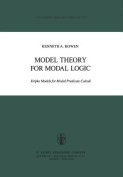 Model Theory for Modal Logic