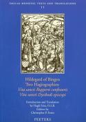 Hildegard of Bingen, Two Hagiographies