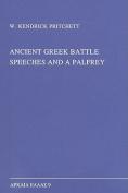 Ancient Greek Battle Speeches and a Palfrey