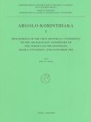 Argolo-Korinthiaka I