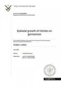Epitaxial Growth of Nitrides on Germanium