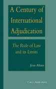 A Century of International Adjudication