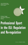 Professional Sport in the EU