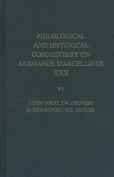 Philological and Historical Commentary on Ammianus Marcellinus