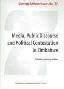 Media,Public Discourse and Political Contestation in Zimbabwe