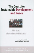 The Quest for Sustainable Development and Peace