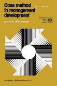 Case Method in Management Development