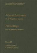 Actes et Documents de la Vingtieme Session / Proceedings of the Twentieth Session