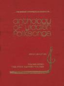 The Anthology of Yiddish Folksongs [YID]