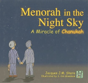 Menorah in the Night Sky