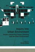 Inquiry into Urban Environment