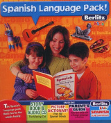Berlitz Kids Spanish Language Pack! [With Dictionary, Story Book, Parent's GuideWith CertificateWith CD]