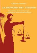 La Memoria del Testigo [Spanish]
