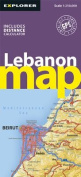 Lebanon Road Map (Road Maps)