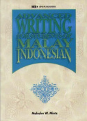Advanced Writing for Students of Malay Indonesian