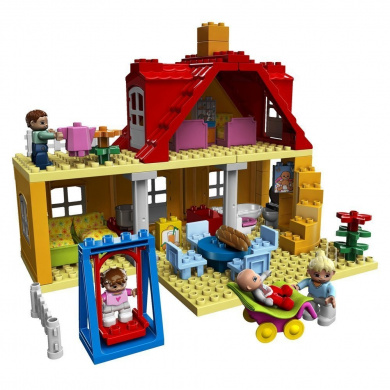 lego duplo 5639 legoville family house by lego duplo. Black Bedroom Furniture Sets. Home Design Ideas
