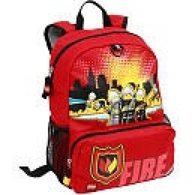 School Backpack - Fire http://www.fishpond.com.au/Toys/LEGO-School ...