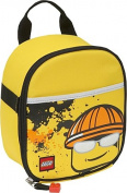 Vertical Lunch Bag - Construction Minifigure