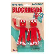 Gumby and Friends Blockheads Bendable Figures 2-Pack