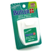 Butler Floss 140 Yards Mint Waxed
