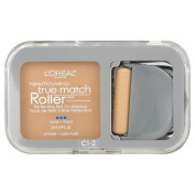 L'Oreal True Match Roller Perfecting Roll On Makeup SPF 25, Alabaster/Natural Ivory C1-2 10ml (8.5