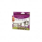 Nailene Ultra Quick Brush-On Gel Kit, French & Natural Styles 1 kit