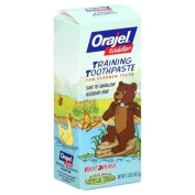 Orajel Training Toothpaste, Fruit Splash, 45ml