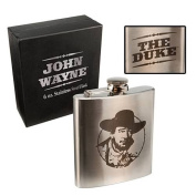 John Wayne The Duke Metal Flask