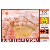 Sunrise In Meatopia Jigsaw Puzzle