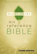 Giant Print Reference Bible-NIV [Large Print]