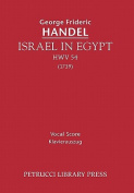 Israel in Egypt, Hwv 54 - Vocal Score