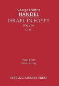 Israel in Egypt, Hwv 54 - Vocal Score