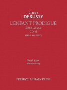 L'Enfant Prodigue, CD 61 - Vocal Score [FRE]
